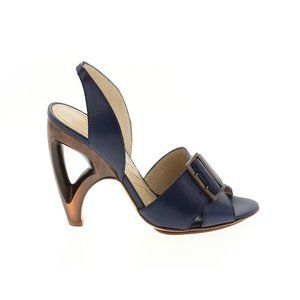 Alberta Ferretti Blue Sandals